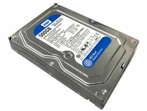 Windows 7 Professional 64 Pro Dell Inspiron 660 660s 500GB SATA Hard Drive