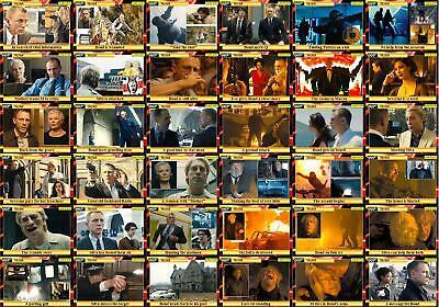 James Bond movie storyboard Trading cards 007 Skyfall