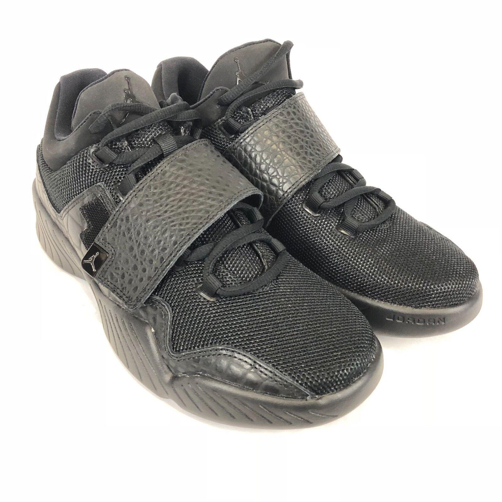 Air Jordan Mens J23 Sneakers Shoes Basketball Black Antharacite Sz 8 854557-011