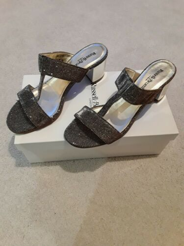 Russell & Bromley Silver Bellina Ladies Sandals BNIB Size 5 / 38