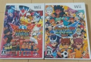 Nintendo Wii Inazuma Eleven Strikers 2012 Xtreme Go 2013 2 Game Set Japan Ebay