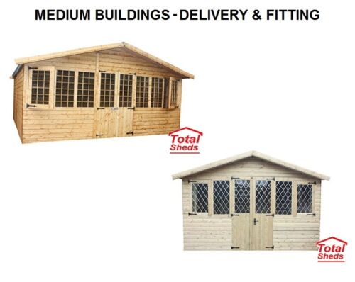 DELIVERY WITH THE OPTION OF FITTING MEDIUM SIZE BUILDINGS