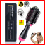 miniature 1 - One-Step Hair Blow Tangle Comb Volumizer Electric Hot Air Curling Iron Comb Blow