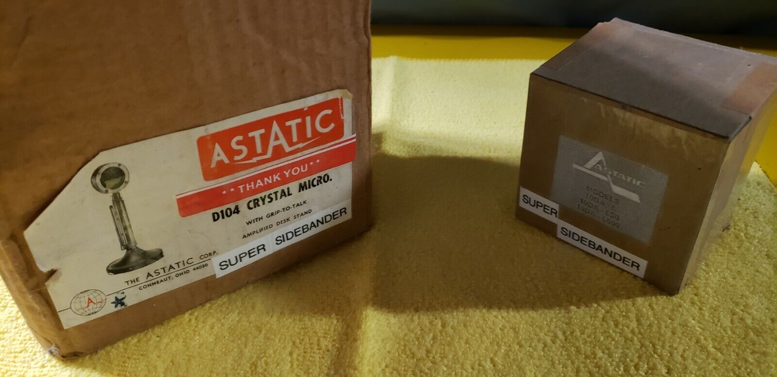 Astatic 10DA HEAD&BASE*REAL SUPER SIDEBANDER*COLLECTORS CHOICE *MAKES U HAPPY 😊. Available Now for 449.00