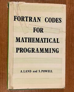 FORTRAN-CODES-FOR-MATHEMATICAL-PROGRAMMING-A-Land-amp-S-Powell-HC-DJ