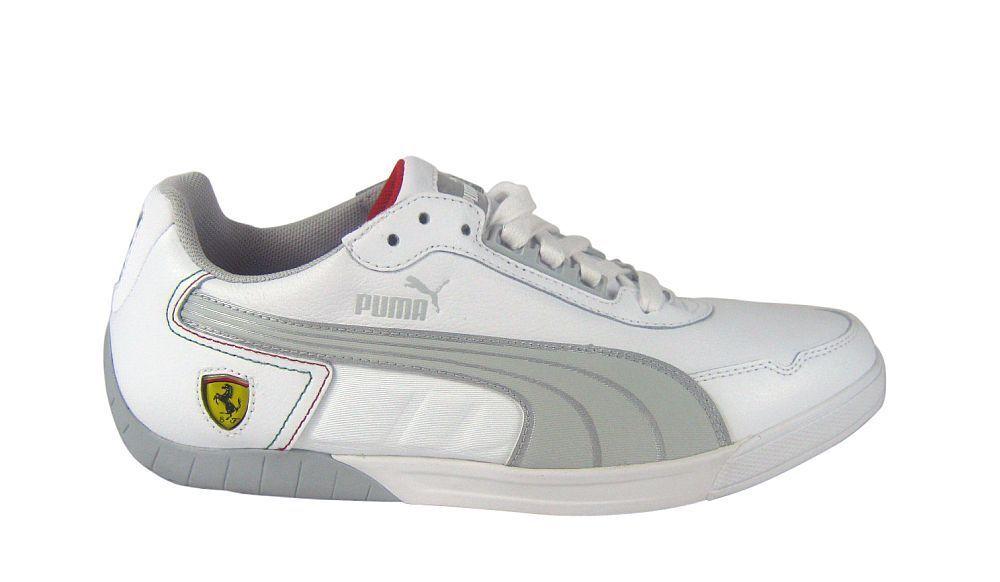 Puma 3.0 lo SF ferrari White/Grey Violet/Silver Sneaker/zapatos blanco