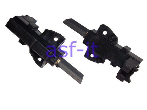 2 Kohlebürsten Motorkohlen für Bauknecht Whirlpool Ceset Motor MCA blauer Punkt