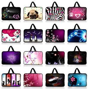 "For 15/"" 15.4/"" 15.6/"" Macbook Dell Laptop Handle Sleeve Case Shoulder Bag Pouch"