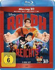 RALPH REICHTS (Walt Disney) Blu-ray 3D + Blu-ray Disc NEU+OVP