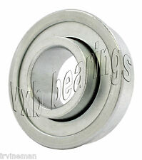 "Stamped Steel Flanged Wheel Bearing 3/4""x 1 3/8""inch Ball Bearings 0.750""Bore ID"