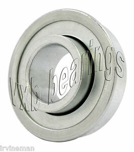 Unground-Flanged-Wheel-Bearing-7-16-034-x1-1-8-034-inch-Ball-Bearings