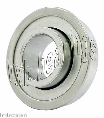"""AF2436 FLANGED UNGROUND SINGLE ROW BALL BEARING 3//8/""""X1-1//8/""""X7//16/"""""""