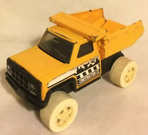 Buddy-L-Hong-Kong-Dump-Tipper-Truck-Vintage-1979-Metal-Lorry-Construction-Toy