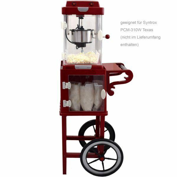 Sous-châssis Popcorn voiture pour Popcorn Maker avec deux pneus PCM-UG IDAHO