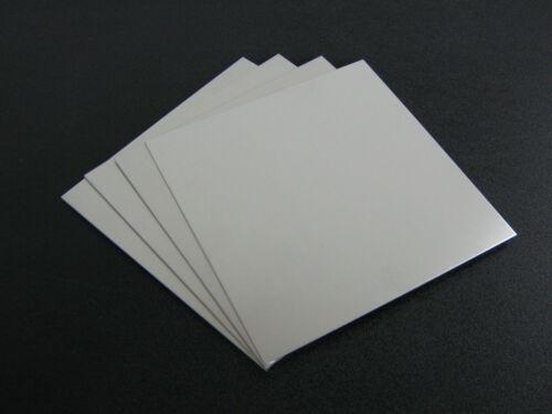 ".080 Thick  Aluminum Sheet 5052 H32-4/"" x 5/"" 4 pieces"