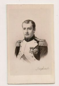 Vintage-CDV-Napoleon-I-Emperor-of-France-E-Neurdein-Photo