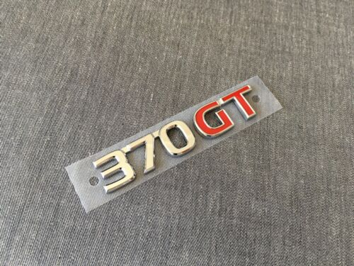 Nissan Genuine 370GT Rear Emblem Badge for Skyline