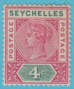 SEYCHELLES-4a-DIE-1-MINT-HINGED-OG-NO-FAULTS-EXTRA-FINE