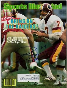 Joe-Theismann-Signed-Sports-Illustrated-January-16th-1984-W-1983-NFL-MVP-SCH