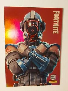 Panini-Fortnite-Trading-Cards-2019-LEGENDARY-OUTFIT-292-VHTF-FOIL