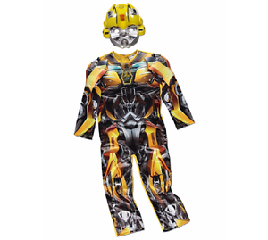 George Transformers Bumblebee Kids Fancy Dress Costume Outfit World Book Day