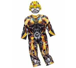 migliori scarpe da ginnastica ampia scelta di colori qualità perfetta Dettagli su George Transformers Bumblebee Bambini Costume Vestito Giornata  Mondiale del Libro- mostra il titolo originale