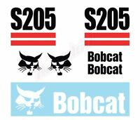 Bobcat S205 Skid Steer Set Vinyl Decal Sticker - Aftermarket