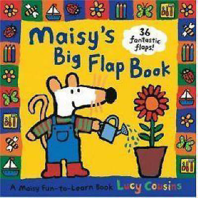 1 of 1 - Maisy's Big Flap Book, Cousins, Lucy, Very Good Book