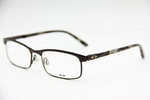 NEW OAKLEY OX3182-0449 BROWN TAXED AUTHENTIC RX EYEGLASSES RX 49-16