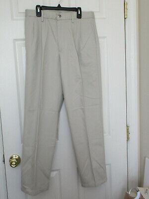 Dockers #7497 NEW Men/'s Pleated Classic Fit Signature Khaki Pants MSRP $62