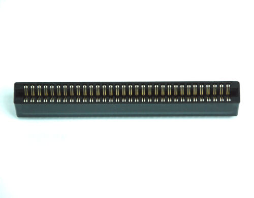 """100pc Industrial Card Edge Slot Socket Connector 32x2P 64P 2.54mm 0.1/"""" 3A RoHS"""