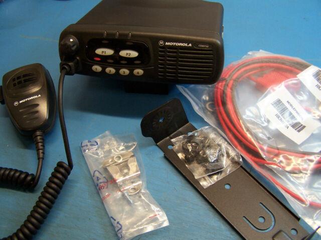 Motorola CDM750 VHF 136-174 45 Watt Mint Condition Tested