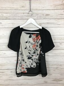 COAST-Top-Size-UK12-Floral-Great-Condition-Women-s