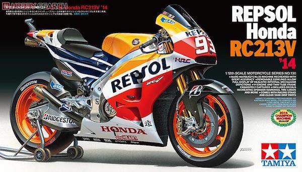 Tamiya 1 12 Repsol Honda RC213V 2014