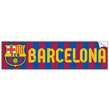 FC Barcelona Bumper Sticker Pegatina Soccer Futbol La Liga FCB Barca Messi