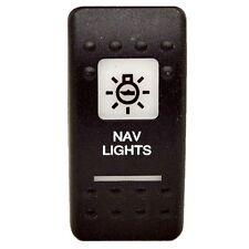 Carling Boat Rocker Switch Cover ESA2WHT-NAV | Nav Light (Single)