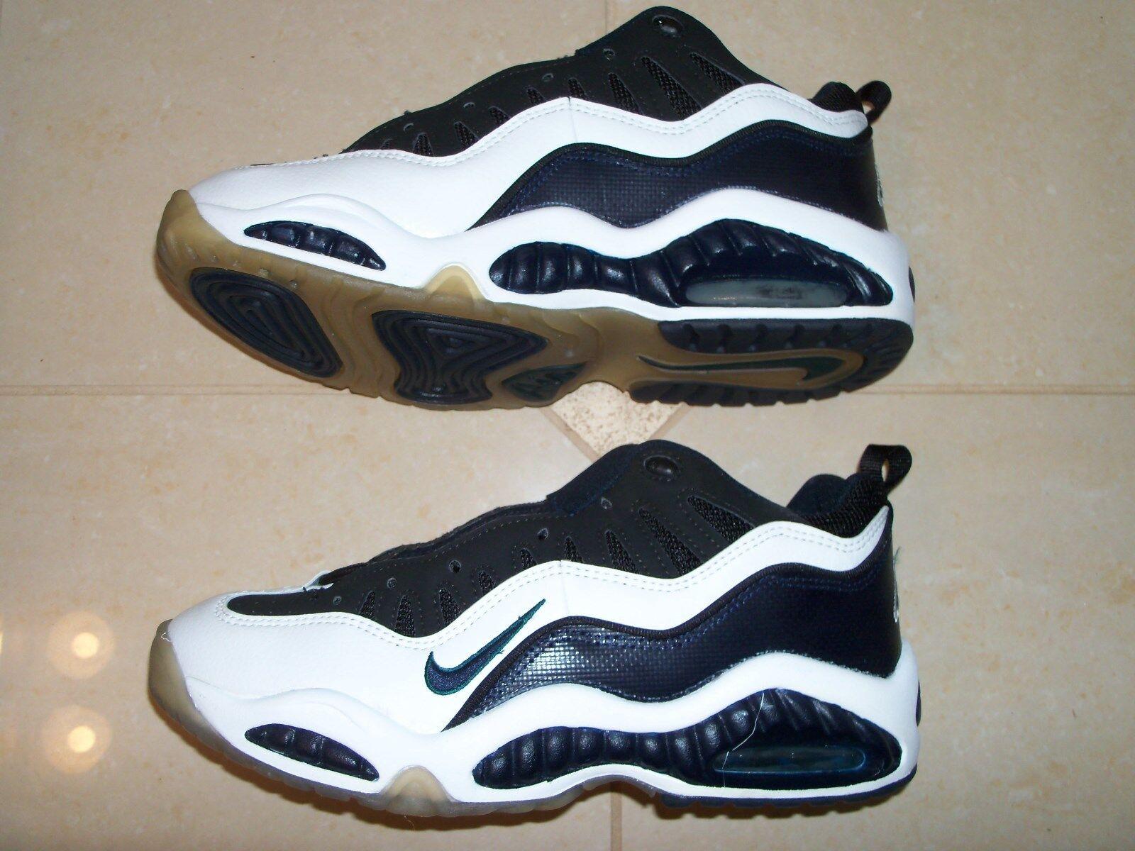 1996 og nike air so niedrige uptempo vintage - - - sneaker neue sz: 9,5 wht / blk / marine ffa14a