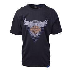 Harley-Davidson Men's Black S/S Graphic Tee