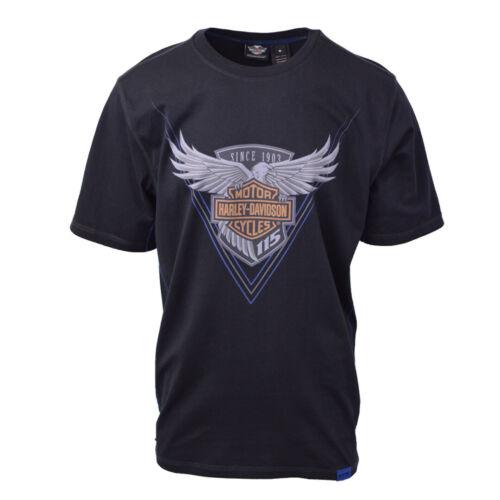 Harley-Davidson Men/'s Black S//S Graphic Tee
