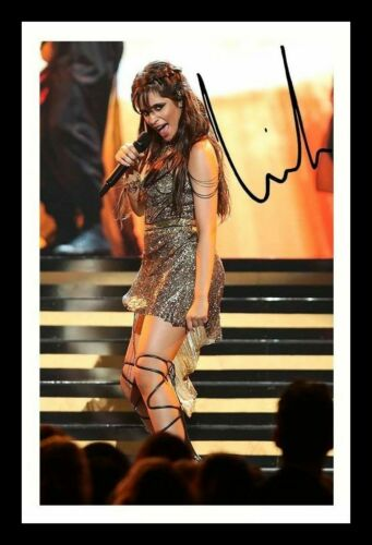 CAMILA CABELLO AUTOGRAPHED SIGNED FRAMED PP POSTER PHOTO