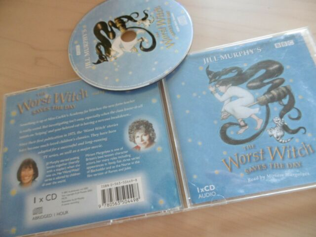 The Worst Witch Spart The Day CD Jill Murphy 1 Hour Abridged Miriam Margolyes