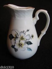 VINTAGE ceco conteggio thun-duchov Porcellana Floreale CREAMER c. 1950's EX