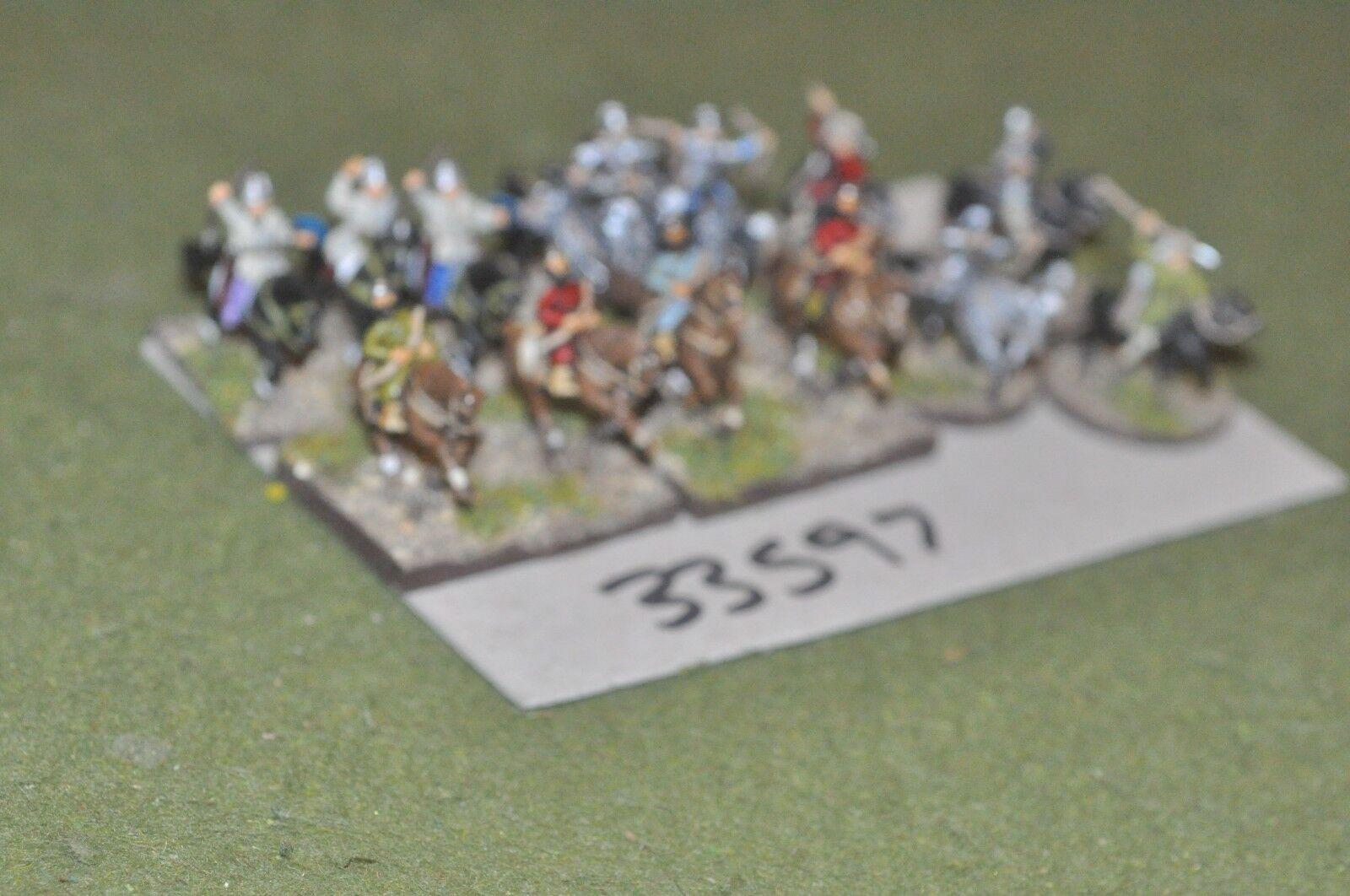 15mm dark ages   turkish - battle group 14 figures - cav (33597)