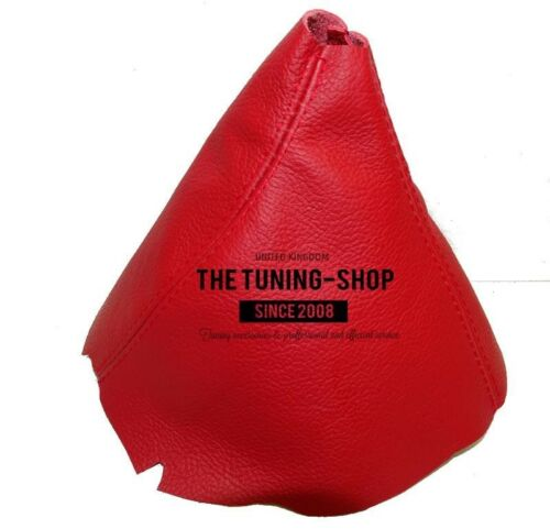 Shift Boot For Porsche 911 997 2004-2012 Red Leather
