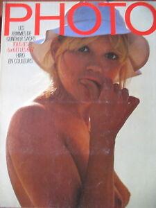 magazine-PHOTO-N-078-GUNTHER-SACHS-HIRO-LESLIE-KRIMS-CHASSEURS-D-039-IDOLES-1974