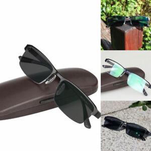 14814fe190 Image is loading Photochromic-Reading-Glasses-Titanium-Alloy-Eye- Prescription-Diopter-