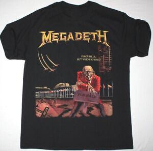 New-MEGADETH-PEACE-SELL-T-shirt-Black-Men-Cotton-Reprint-S-4XL-KL041