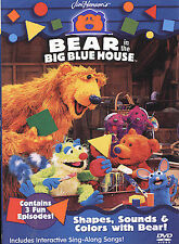 Bear in the Big Blue House: Shapes, Sounds & Colors With Bear! by Noel MacNeal,