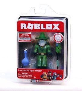 Roblox Emerald Dragon Master Mini Figure Virtual Item Code Brand