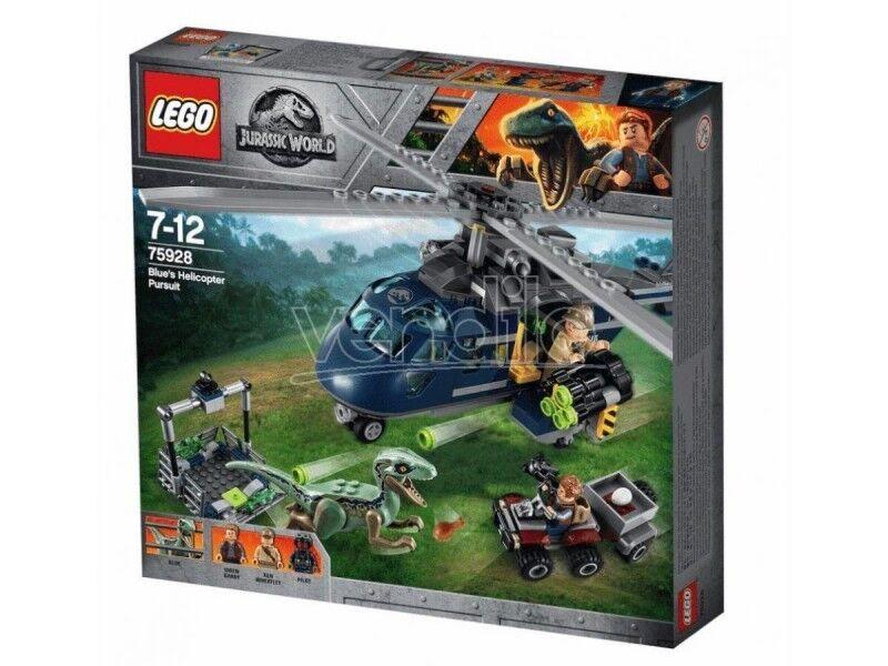 LEGO JURASSIC WORLD 75928 - INSEGUIMENTO SULL ELICOTTERO DI Blau